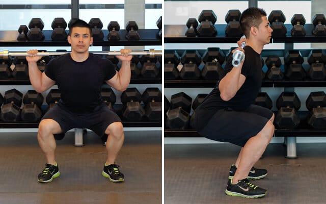 kā taisīt squat